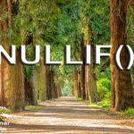 NULLIF